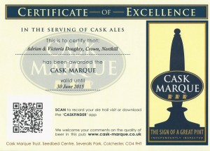 Casked Ale Award