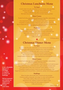 Crown christmas menu A5 2
